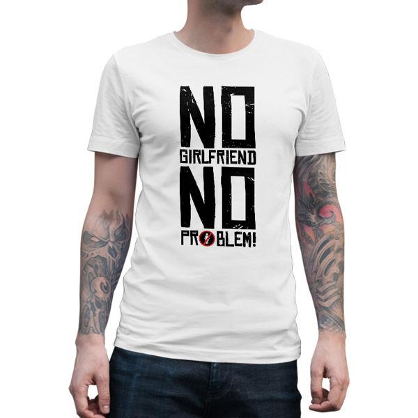 Immagine di Maglietta Uomo No GirlFriend No Problem