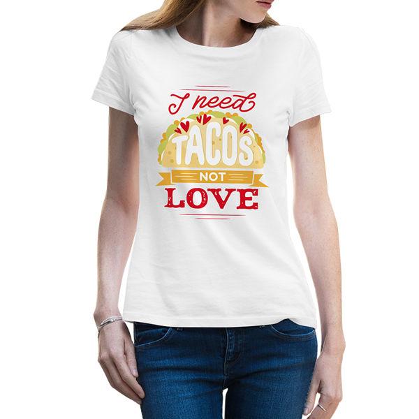 Immagine di Maglietta Donna I Need Tacos