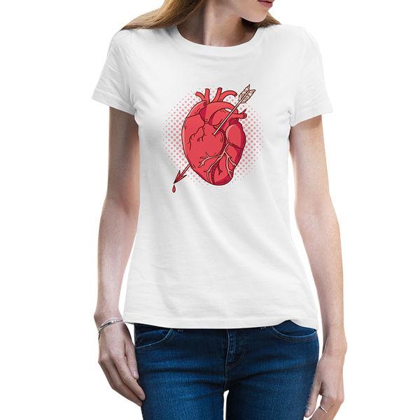 Immagine di Maglietta Donna Cuore Trafitto