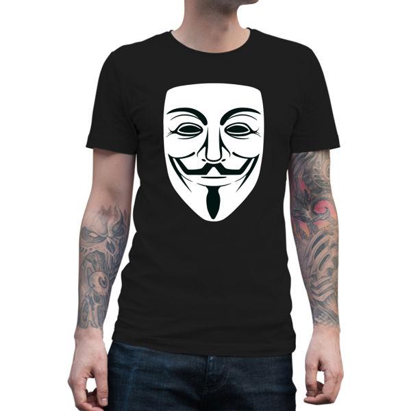 Immagine di Maglietta Uomo Anonymous Mask
