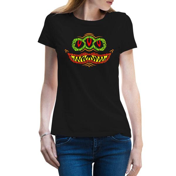 Immagine di Maglietta Donna Horror Smile