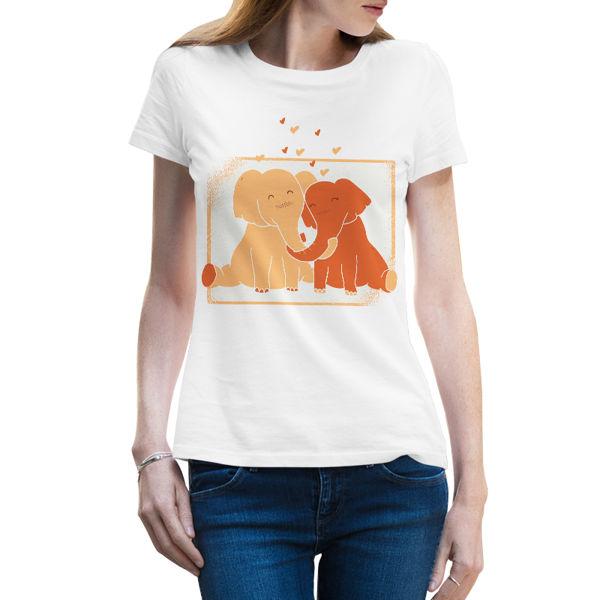 Immagine di Maglietta Donna Elefanti