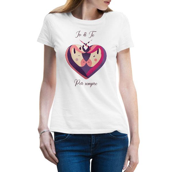 Immagine di Maglietta Donna Unicorn