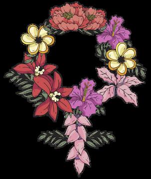 Immagine di Ghirlanda di fiori
