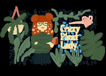Immagine di Crazy Plant Girl