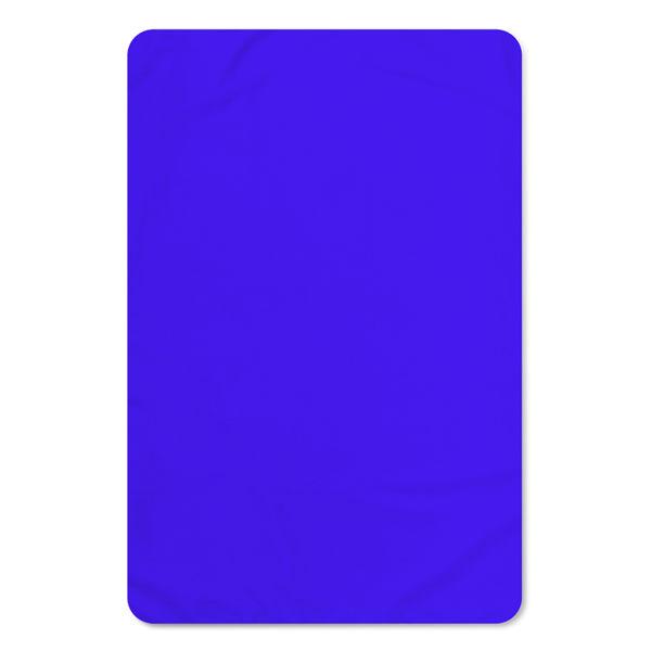 Immagine di Plaid Blu Elettric