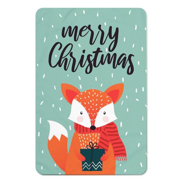 Immagine di Plaid Fox Merry Christmas