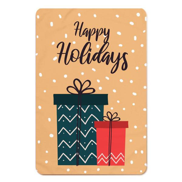 Immagine di Plaid Fox Happy Holidays