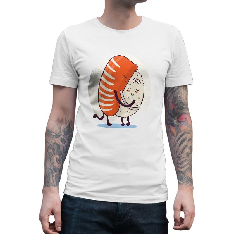 Immagine di Maglietta Uomo Sushi Abbraccio