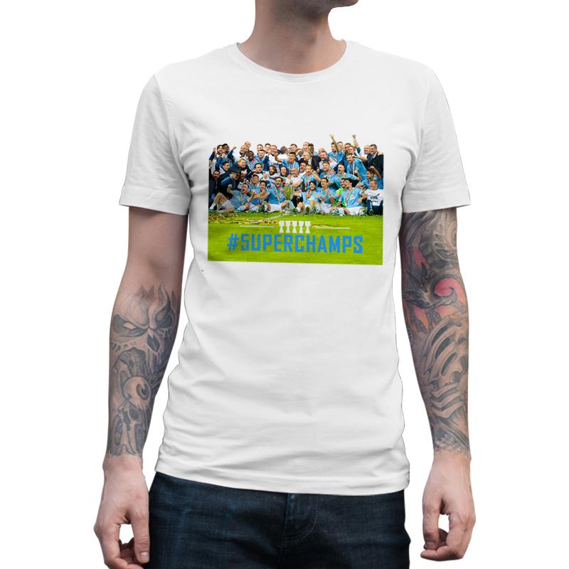 Immagine di Maglietta Uomo Supercoppa Lazio