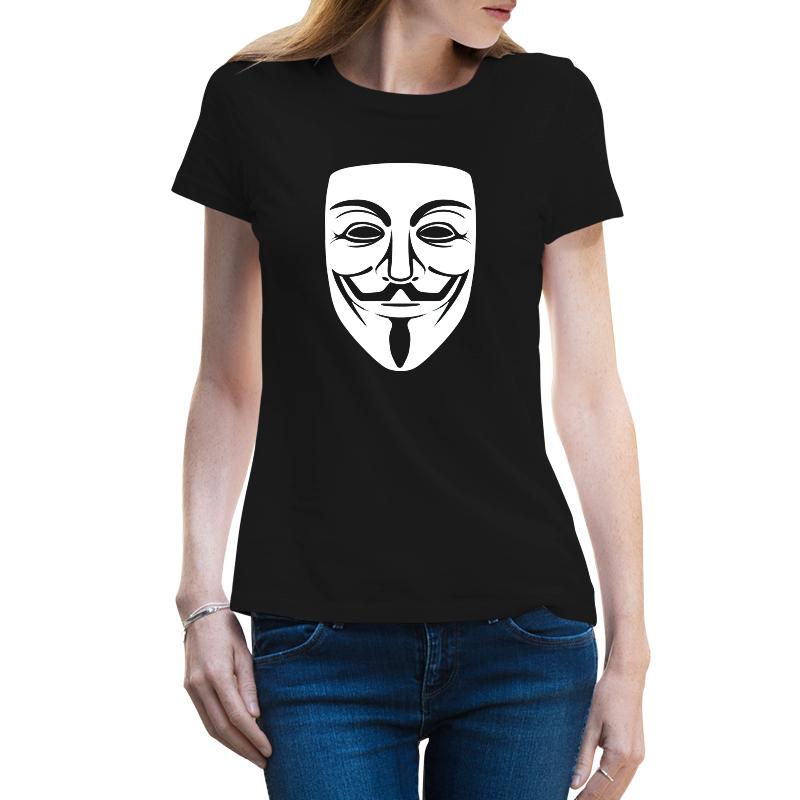 Immagine di Maglietta Donna Anonymous Mask