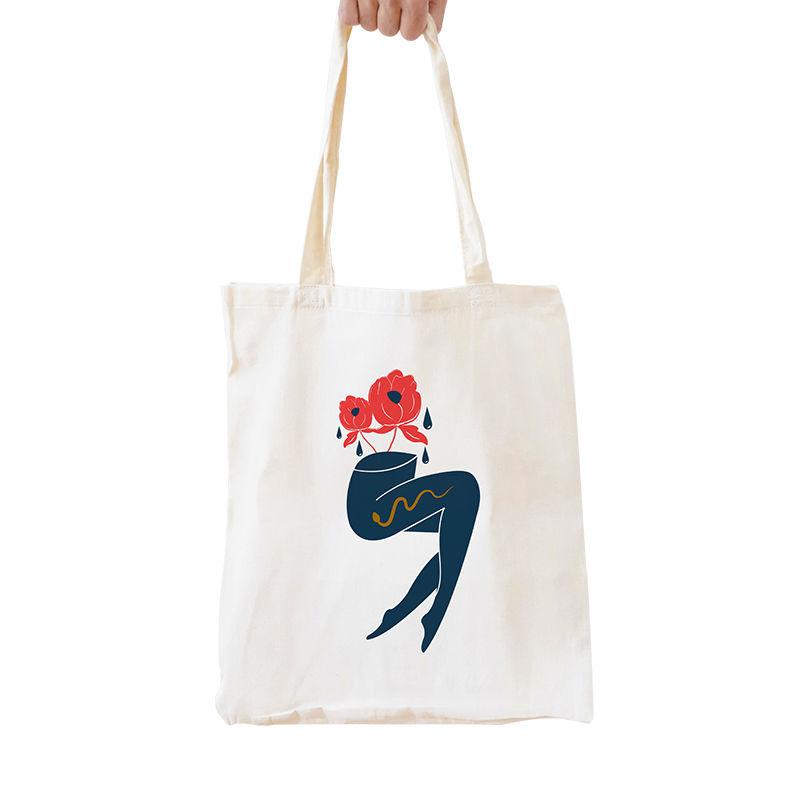 Immagine di Shopper Gambe e fiori