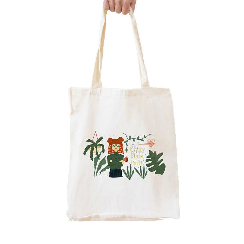 Immagine di Shopper Crazy Plant Lady